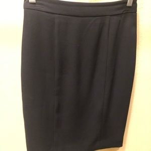 Bebe Pencil Skirt with Kick Pleat